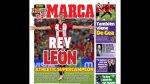 """La prensa española destaca conquista del Athletic: """"Rey León"""" - Noticias de camp nou"""
