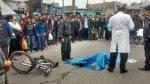 SJM: ciclista murió atropellado por bus en avenida Pachacútec - Noticias de accidente de transito
