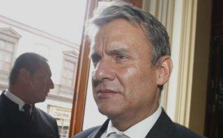 Figallo negó presión para beneficiar a Martín Belaunde Lossio