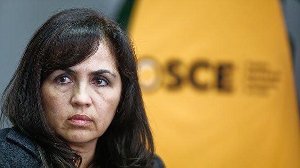 OSCE reconoce que hubo problema en su base de datos
