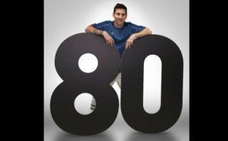 Lionel Messi consigue 80 millones de fans en Facebook
