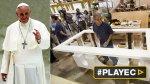 Así se hace el altar en que oficiará misa Francisco en EE.UU. - Noticias de papa francisco