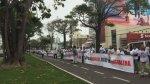 Magdalena: con cadena humana protestaron por informe de límites - Noticias de municipalidad de san isidro