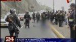 Ciclista que murió atropellado en Costa Verde estaba ebrio - Noticias de policía atropellado