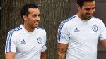 Pedro ya entrena en Chelsea: