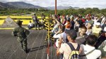 Venezuela refuerza la seguridad en su frontera con Colombia - Noticias de armas de guerra