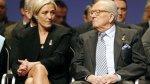 """Jean-Marie Le Pen a su hija: """"Está mal matar a tu propio padre"""" - Noticias de viernes negro"""