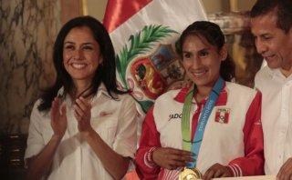 Gladys Tejeda: Nadine Heredia la apoyó en tema de doping