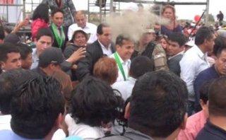 Mujer que supuestamente agredió a Humala no fue a declarar
