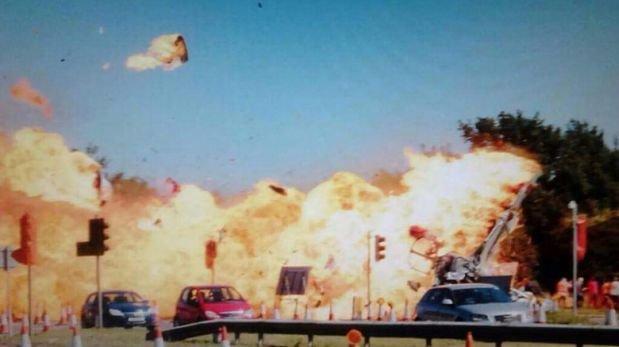 Inglaterra: Así fue el accidente de avión que mató a 11 [VIDEO]