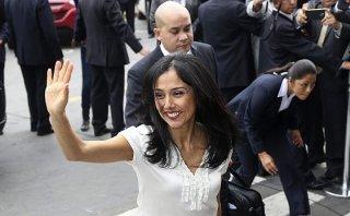 Nadine Heredia denuncia a Gutiérrez por robo de documentos