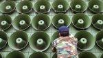Qué dicen los parlantes que avivaron la crisis entre las Coreas - Noticias de guerra corea