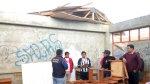 Andahuaylas: colegio quedó sin techo tras fuertes vientos - Noticias de suspenden clases