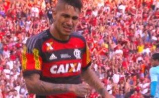 Paolo Guerrero marcó golazo: Flamengo derrotó 2-1 a Sao Paulo