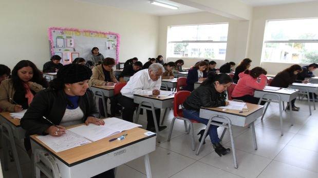 Prueba a docentes: resultados se conocerán el 2 de setiembre