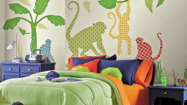 Muros originales para decorar la pared del cuarto - Humedad ideal habitacion ...