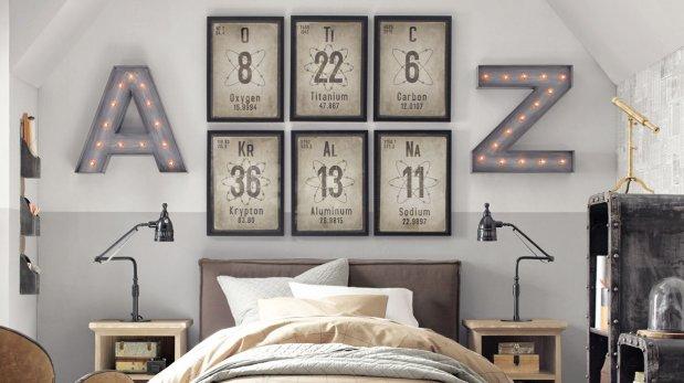 Muros originales para decorar la pared del cuarto for Disena tu habitacion