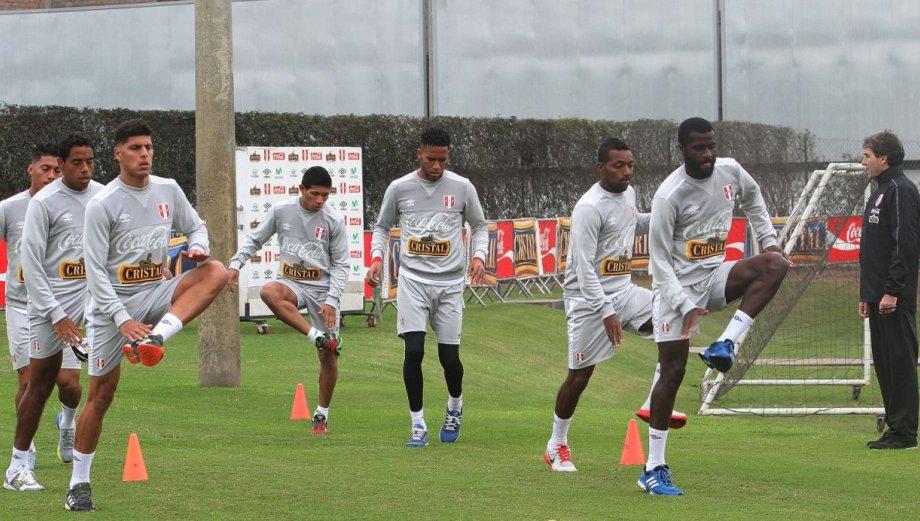 Selección peruana: así entrenó la 'bicolor' para amistosos
