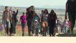 Miles de migrantes cruzan Serbia [VIDEO] - Noticias de pobreza