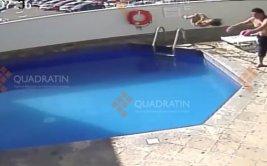 Padrastro que ahogó a su hija fue delatado por cámaras [VIDEO]