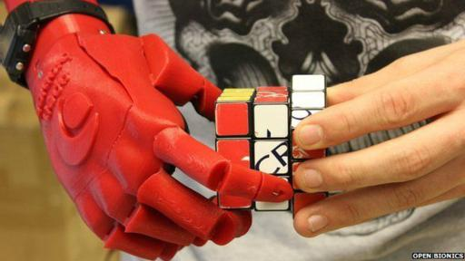 Su creador señala que puede crear una prótesis robótica en menos de dos días. (Foto: Open Bionics)