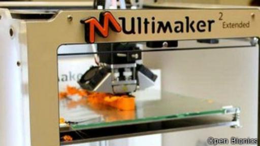 El proyecto usa una impresora 3D para construir las partes que constituyen la mano robótica. (Foto: Open Bionics)