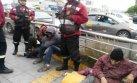 Delincuentes y drogadictos acampaban bajo puente de Av. Canadá
