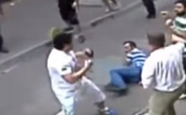 Turcos se pelean con turista sin saber que era boxeador [VIDEO]