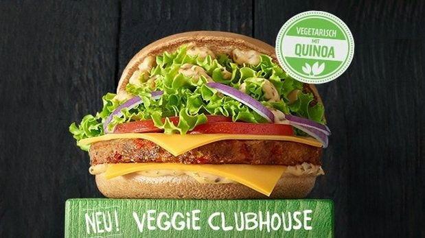 McDonald's ofrece hamburguesa a base de quinua en Alemania