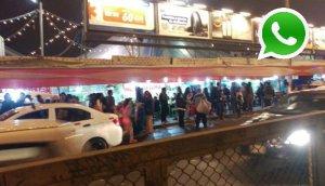 WhatsApp: ambulantes invaden vía pública en Independencia
