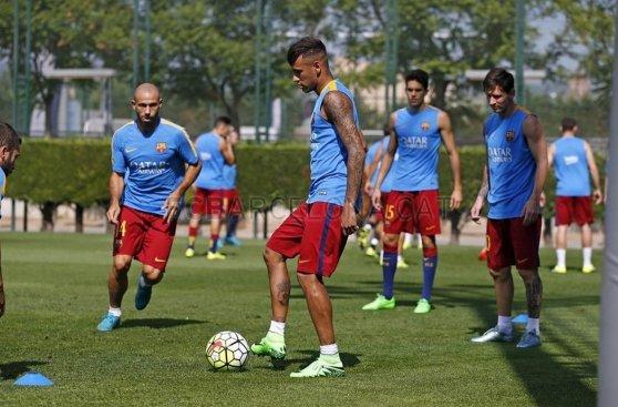 Neymar se recupera y vuelve al tridente de Barcelona