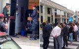 Huacho: granadas estaban con carta extorsiva fuera de municipio