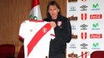 Selección peruana: Ricardo Gareca posó con la nueva camiseta - Noticias de new york