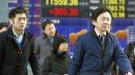 China: bolsa de Shanghái se desplomó 7,63% tras lunes negro - Noticias de banco chino icbc
