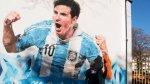 Lionel Messi grita gol en paredes de su escuela en Rosario - Noticias de luis suarez