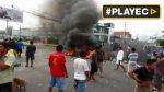 Así se dieron las protestas en Loreto por el lote 192 [VIDEO] - Noticias de julio melendez