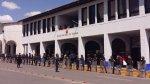 Huaraz: paro regional de 48 horas se inició con marcha - Noticias de universidad santiago antunez