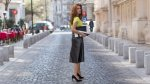 Reglas de oro para lucir tus piernas con una falda midi - Noticias de las mujeres de negro