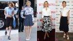 Reglas de oro para lucir tus piernas con una falda midi - Noticias de modas