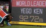 Yego, el campeón que aprendió a lanzar jabalina con YouTube