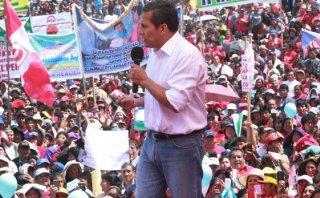 """Ollanta Humala: """"Tenemos que limpiarnos de la narcopolítica"""""""