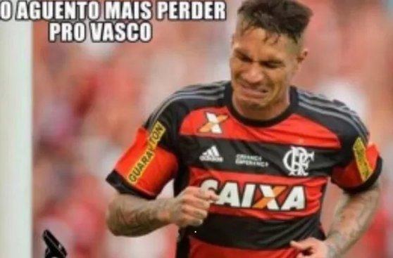 MEMES: hinchas de Vasco se burlan de Paolo Guerrero y Flamengo