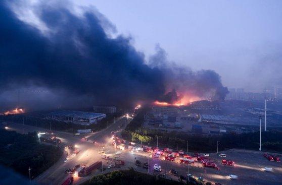 Tianjin: Detienen a 23 personas por tragedia que mató a 145