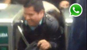 WhatsApp: no pagan pasaje pero entran al Metropolitano (VIDEO)