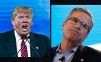 Trump se dispara en las encuestas y Jeb Bush se hunde