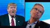 Trump se dispara en las encuestas y Jeb Bush cae al precipicio