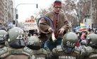 Mapuches protestan contra transportistas y represión policial