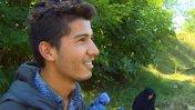Hungría: Empujó a su abuela en silla de ruedas desde Afganistán