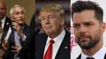 Ricky Martin y su potente carta contra Donald Trump - Noticias de ricky ricón