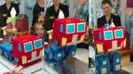 Niño recibe torta de Optimus Prime que se transforma [VIDEO] - Noticias de impresoras 3d